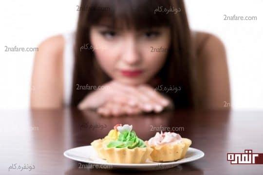 وسوسه در برابر خوراکی های ناسالم