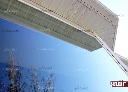 پنجره خشک و درخشان