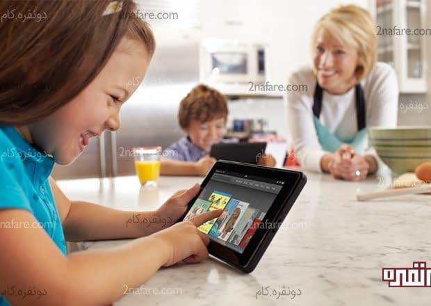 چرا بچه ها عاشق بازی با گوشی های هوشمند هستند