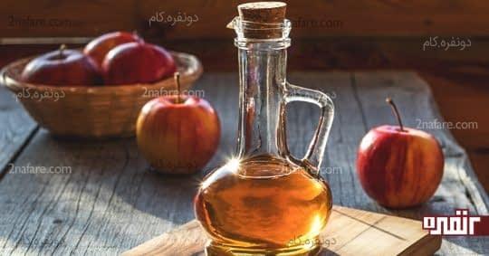 استفاده از سرکه سیببرای جلوگیری از شوره سر