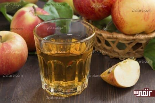 درمان آنفولانزا با سرکه سیب
