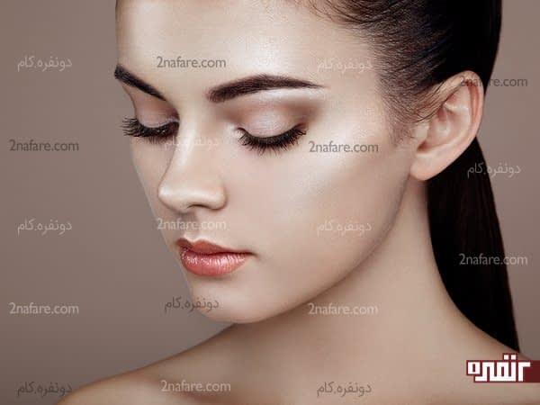 آرایش برای صورت های مربعی شکل
