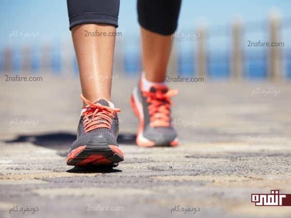 پیاده روی در کاهش وزن بسیار موثر عمل میکنه