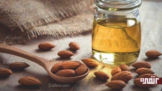 استفاده از روغن بادام برای درمان لکه های پوستی