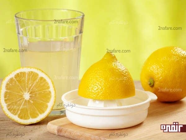 استفاده از آب لیمو برای سفید کردن ناخن ها