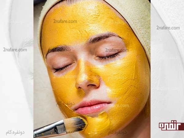 اسکراب پوست پرتقال برای سفید کردن پوست بدن