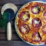 طرز تهیه پیتزا پپرونی مرحله به مرحله