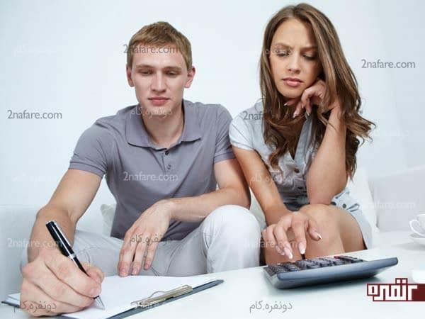 قبل از تصمیم به بارداری در مورد مسائل مالی اون فکر کنین