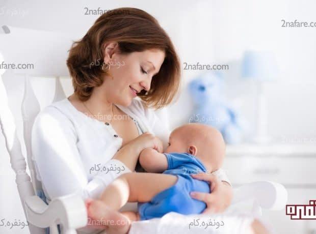 افزایش شیر در مادران