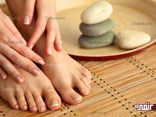 سفید کردن پوست دست ها و پاها در هفت روز