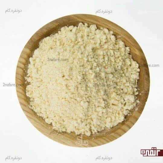ترکیب آرد نخود و لیمو و زردچوبه به عنوان ماسک صورت کاربرد دارد