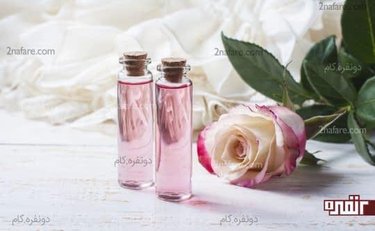 استفاده از ترکیب گلاب و گلیسیرین برای پوست چرب