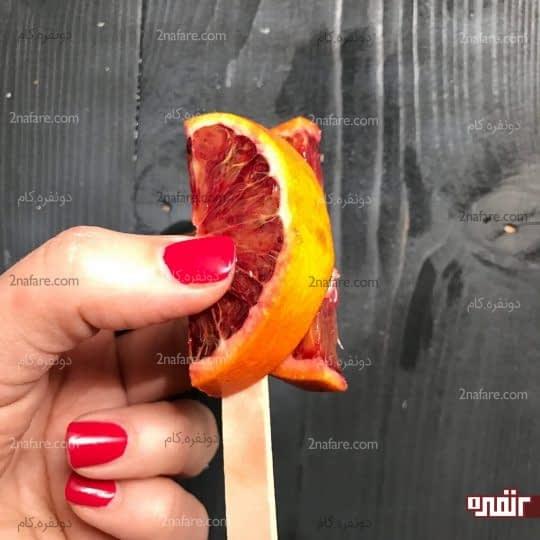 استفاده از پرتقال