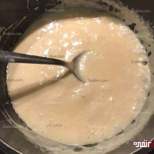 حل شدن پنیر