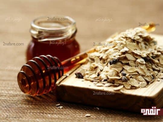 درمان خشکی پوست با کمک موز و عسل