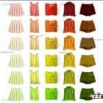 کدام رنگ لباس مناسب رنگ پوست شماست؟