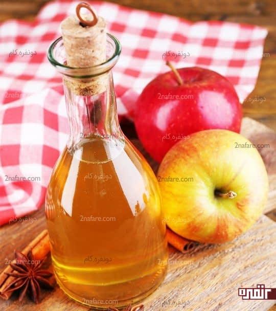 سرکه سیب برای درمان آکنه