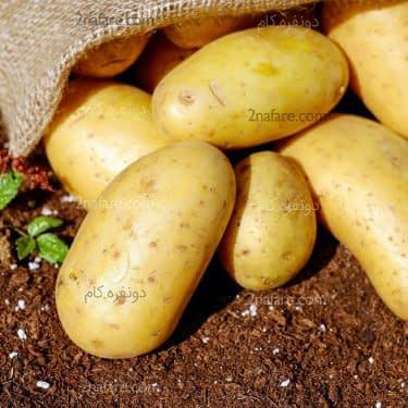فواید سیب زمینی برای پوست