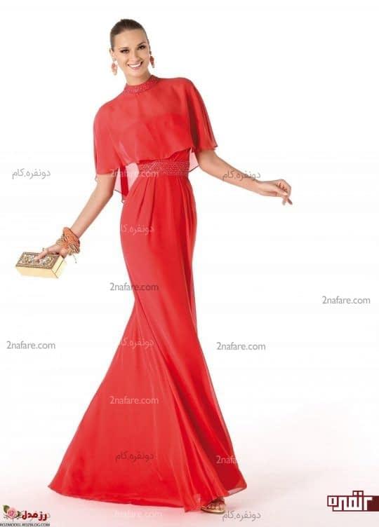 لباس قرمز روشن