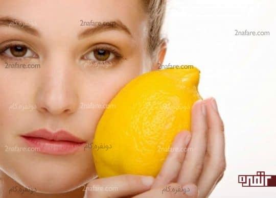 لیمو برای بازسازی پوست