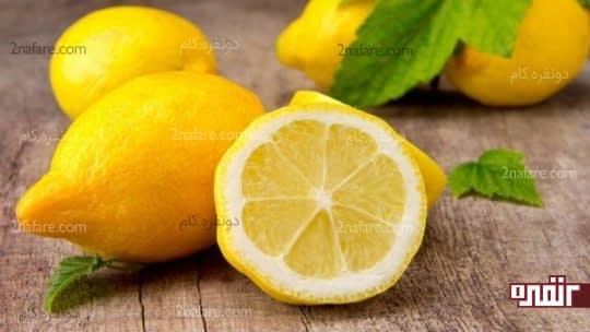 لیمو برای خشک شدن جوش