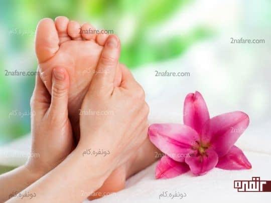 پای خودتون رو به صورت روزانه ماساژ بدین