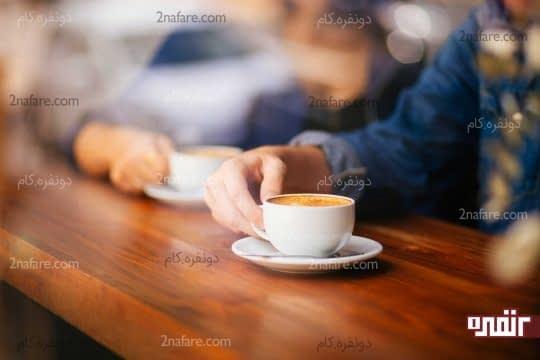 مصرف بیش از حد چای و قهوه موجب زردی دندان ها میشود