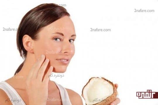 نارگیل برای پوست