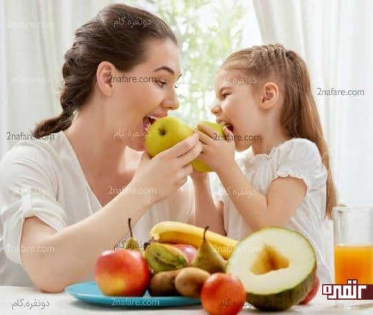 تغذیه کودک در تابستان