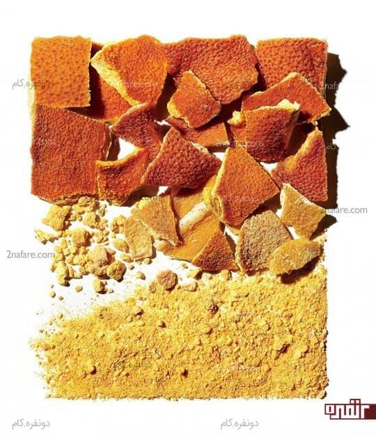 درمان برنزه شدن پوست با پرتقال