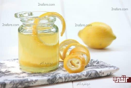 پوست لیمو و روغن نارگیل برای رشد ابرو