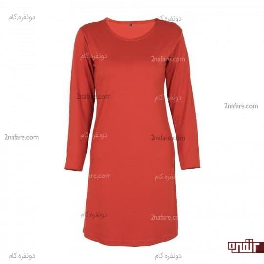 پیراهن قرمز گرم