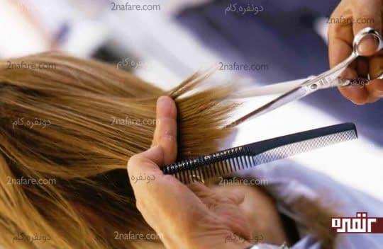 کوتاه کردن مرتب مو به رشد اون کمکی نمیکنه