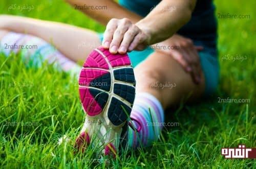 گرم کردن بدن قبل از انجام حرکات ورزشی