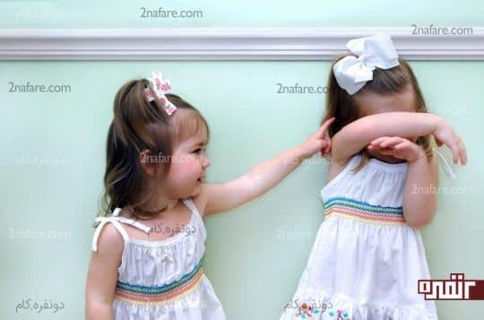 رفتارهای کودک خجالتی