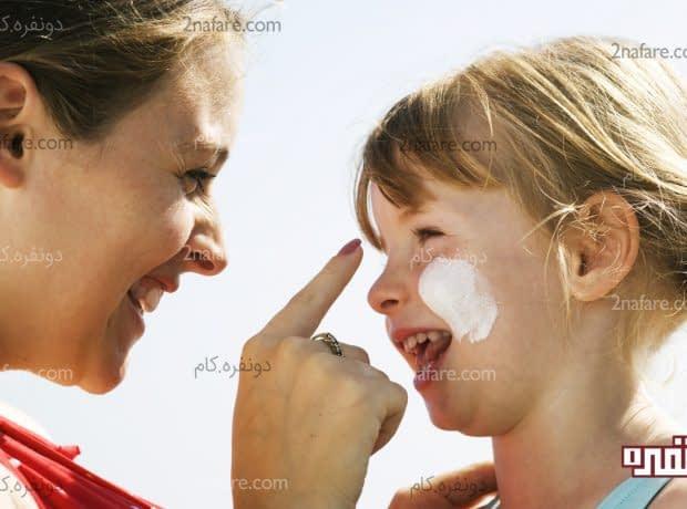ویژگیهای کرم ضد آفتاب کودکان