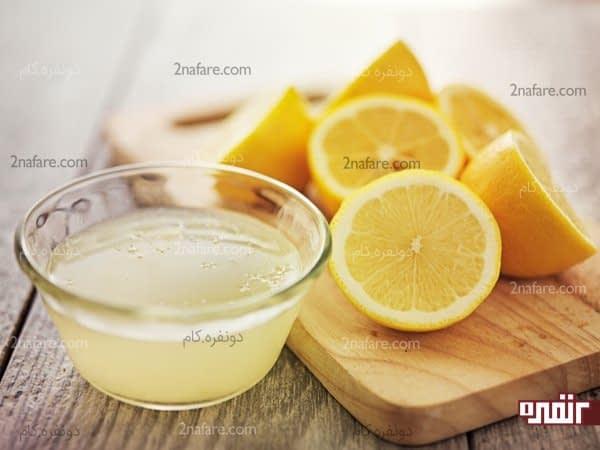 استفاده از لیمو برای درمان مو و پوست سر چرب