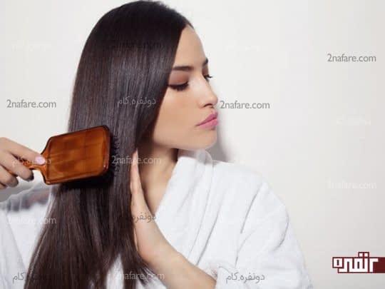 خلاص شدن از پوست و موی سر چرب