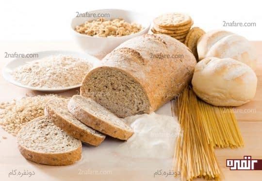 آرد سفید، برنج سفید،ماکارونی