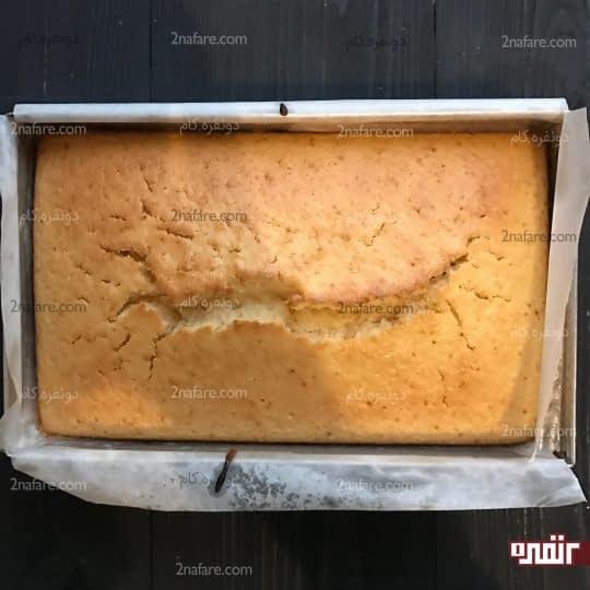 آماده شدن کیک