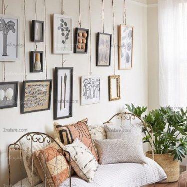 آویز کردن تابلوها بدون آسیب به دیوار
