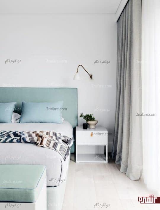 اتاق خواب تابستونه با رنگ پاستیلی