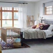 اتاق خواب مشترک والدین و نوزاد