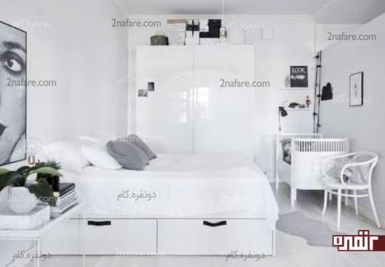 انتخاب تخت و لوازم کودک هماهنگ با رنگ لوازم موجود در اتاق مستر