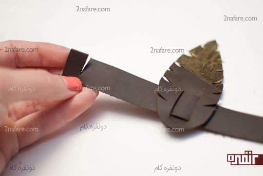 ایجاد برش برای بسته شدن حلقه ها