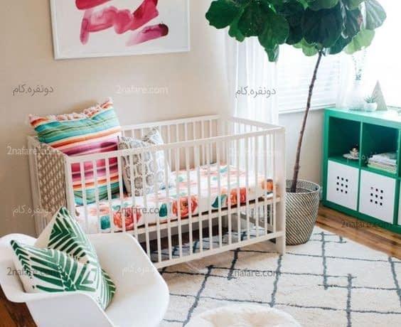 تزیین تابستانی اتاق کودک با اکسسوری های چوبی و زیبا