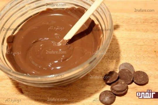 تمپر کردن شکلات