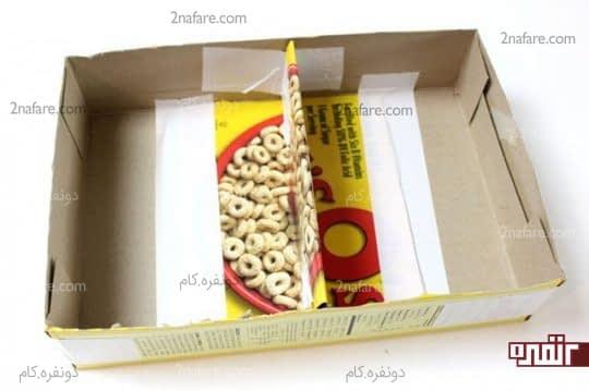 درست کردن مقسم برای جعبه های بزرگ تر