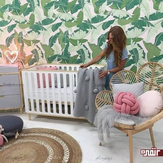 دکور زیبای تابستانی برای اتاق کودکان