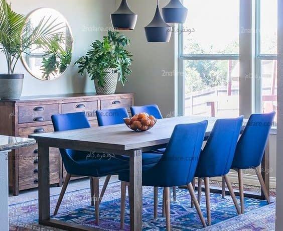راهکارهایی برای تغییر دکوراسیون فضای غذاخوری منزل